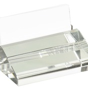 CRY3611S  Crystal Business Card Holder