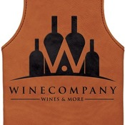 GFT277 Rawhide Leatherette Wine Bag