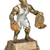 "MR-721 6-3/4"" High, Basketball Monster Series Award"
