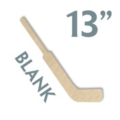 "Hockey02  13"" WOOD MINI HOCKEY STICK"