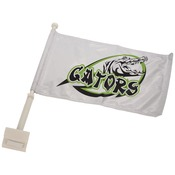 SBL045  2-Sided Car Flag with Pole