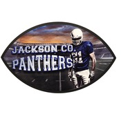 UN5757  Gloss Football Plaque
