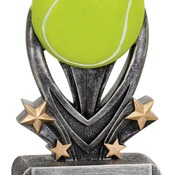 "VSR208   7"" Varsity Sport Resin Tennis Trophy"