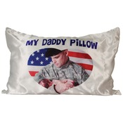 SBL071  Medium 2-Sided Satin Pillow Cover